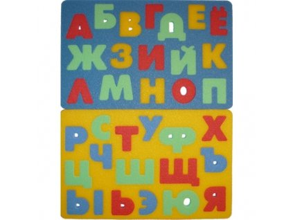 MALÝ GÉNIUS -Ruská abeceda - didaktická hračka