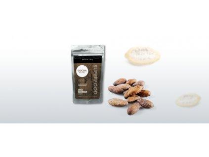 HEALTH LINK - BIO RAW Nepražené kakaové bôby CRIOLLO - 100g