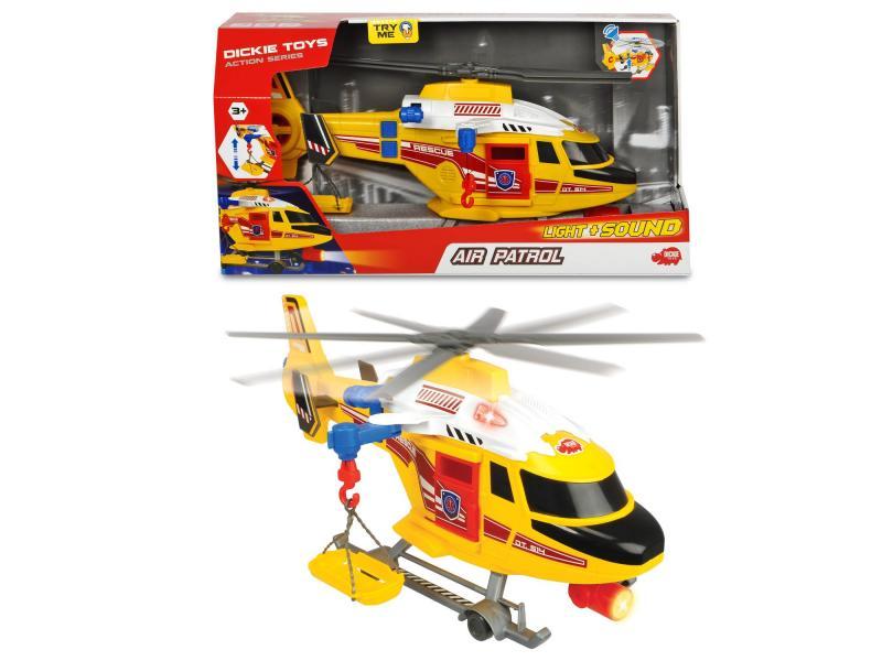 Dickie Toys Záchranársky vrtuľník, 41 cm