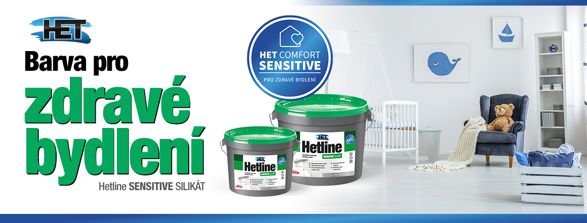 Hetline SENSITIVE silikát