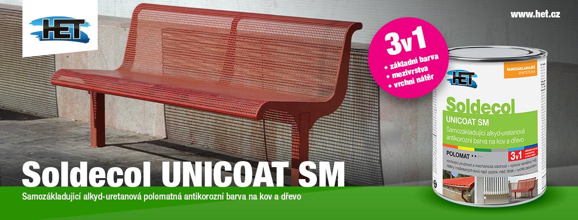 Soldecol Unicoat - samozákladová syntetická barva