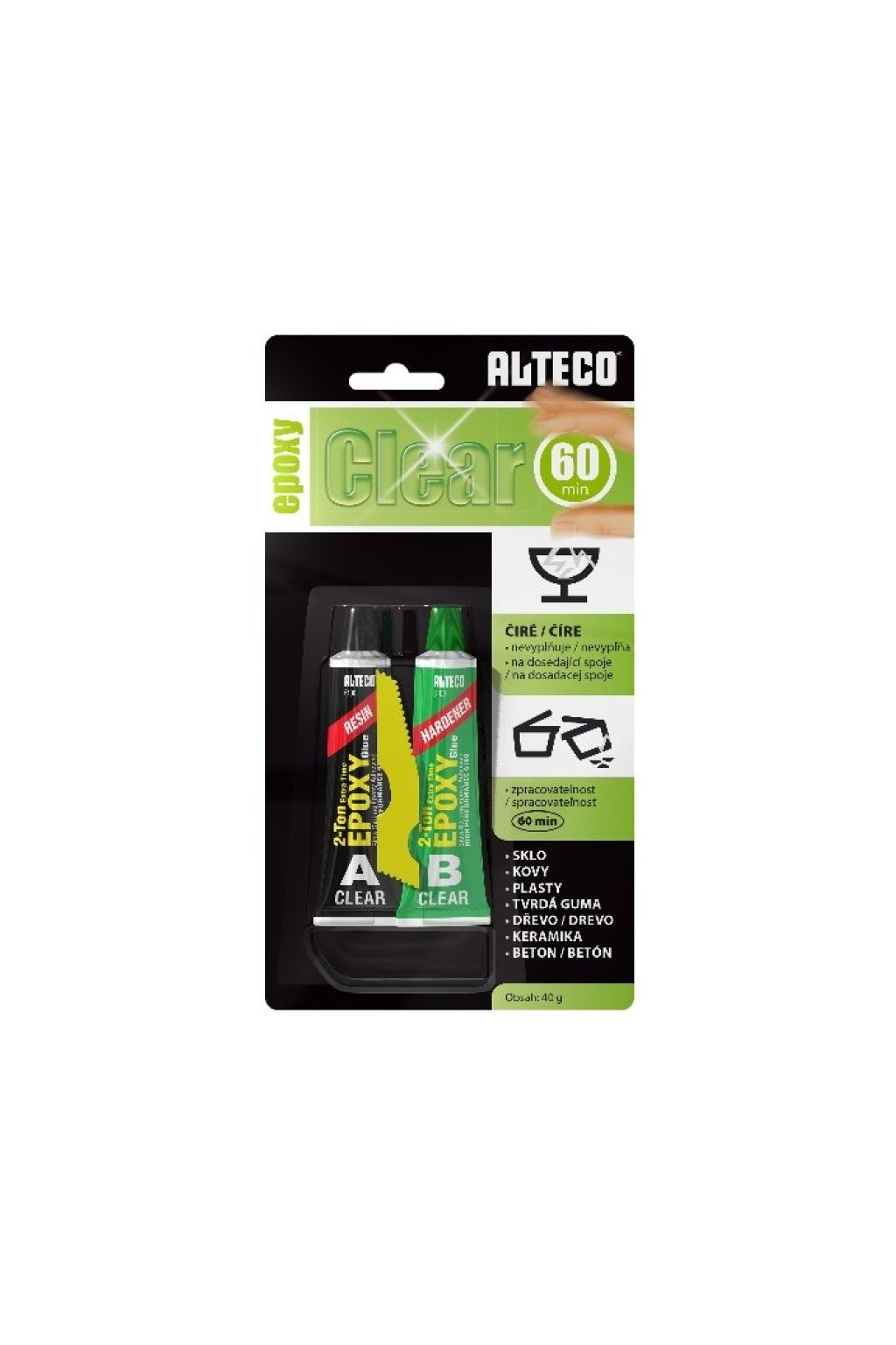 Alteco epoxy clear 40g