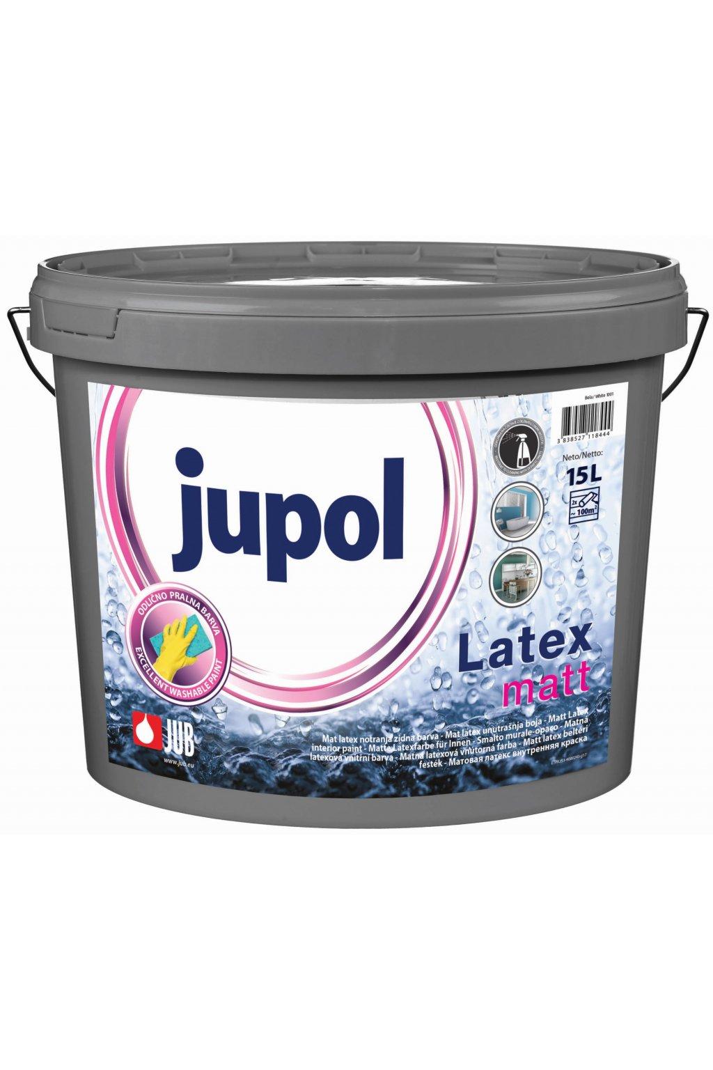 Jupol latex matt 15L
