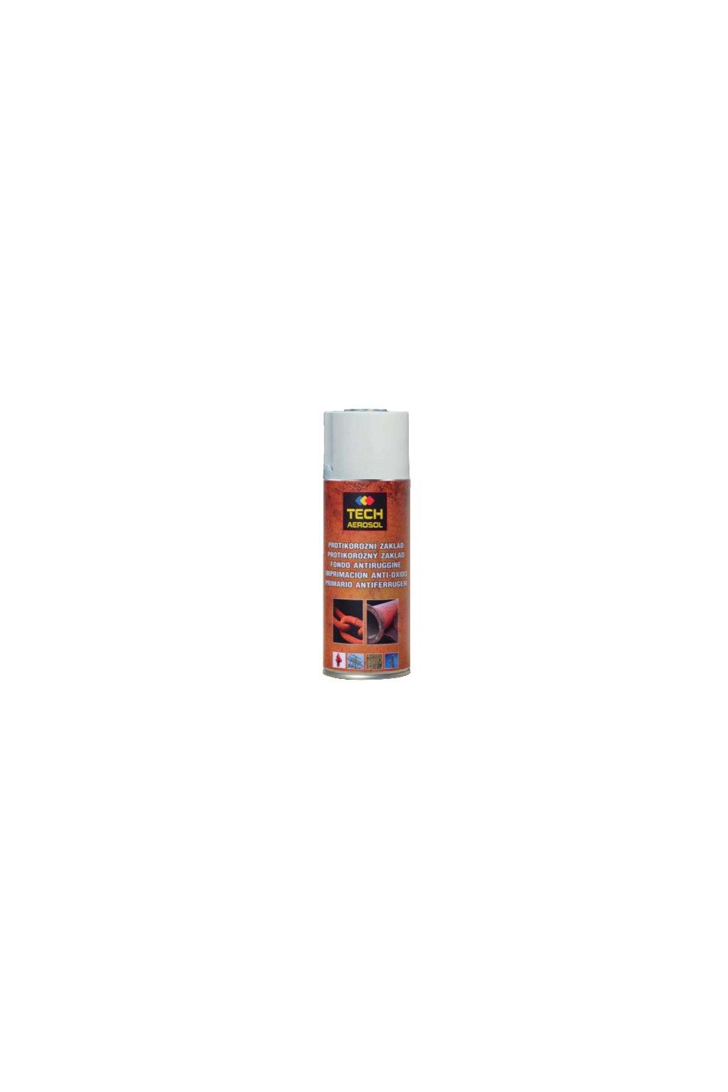 TECH AEROSOL - Protikorozní základ 400 ml
