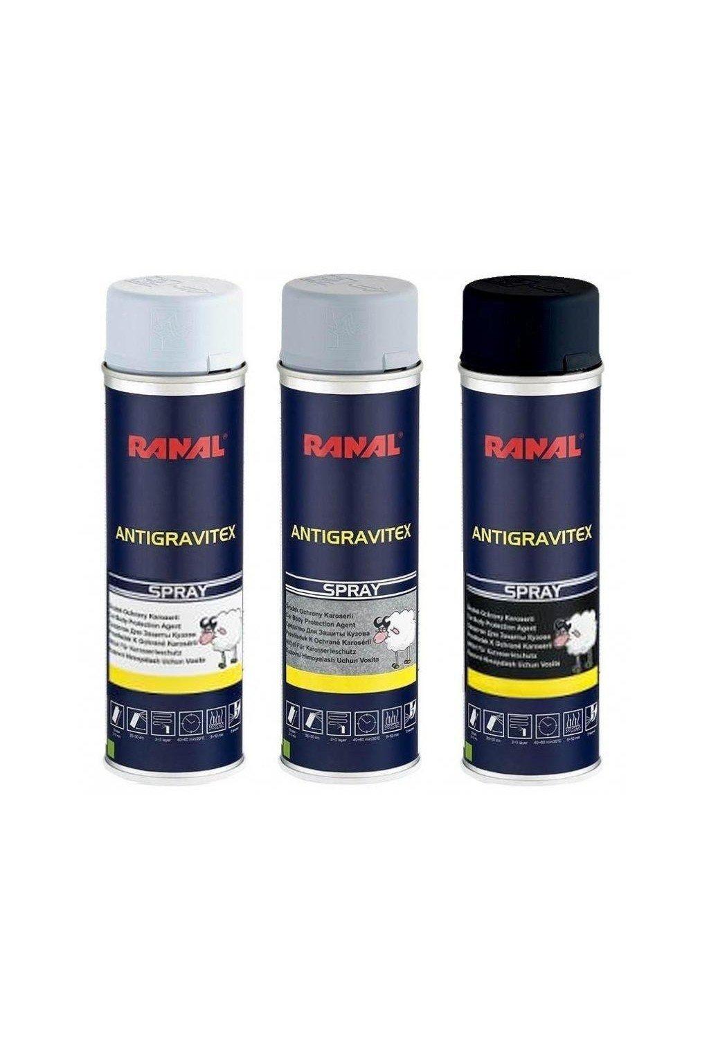 RANAL Antigravitex - Sprej 500ml