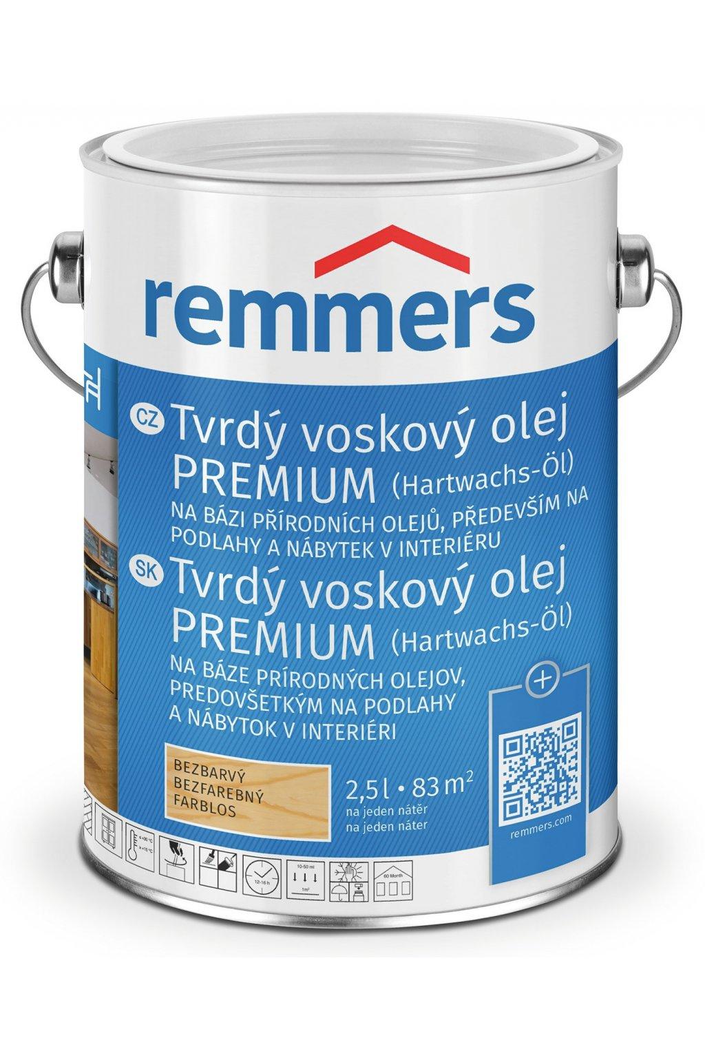 Tvrdý voskový olej Premium