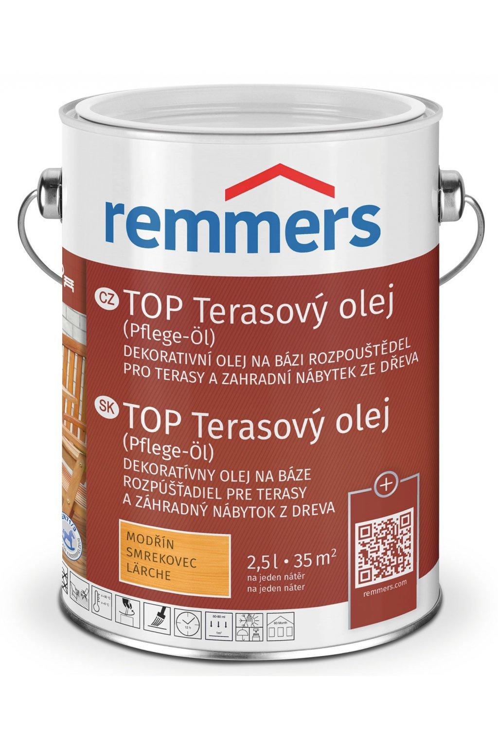 TOP terasový olej