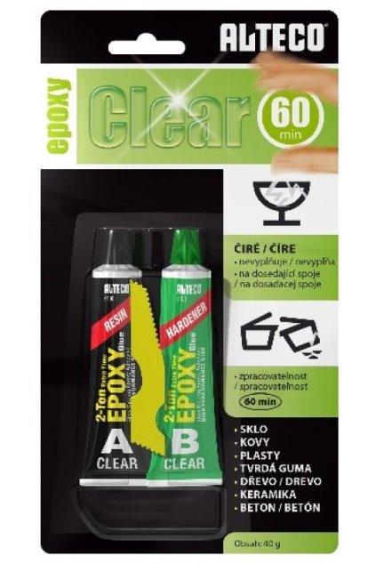 Alteco epoxy clear 40g