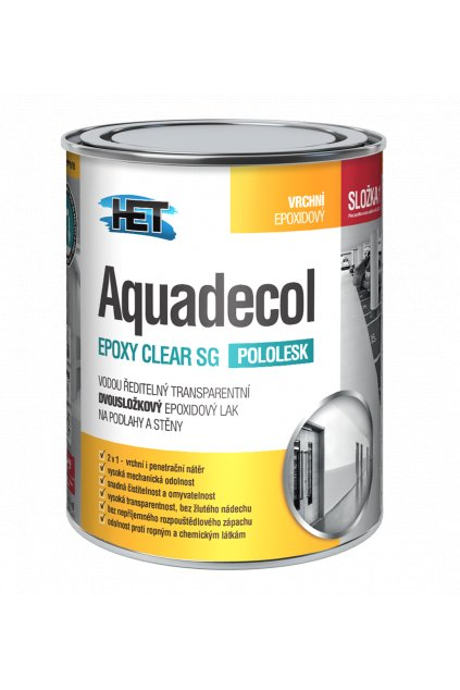 Aquadecol EPOXY CLEAR SG 0,7kg