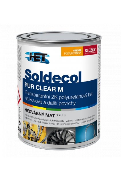 Soldecol PUR CLEAR M