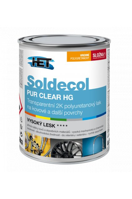 Soldecol PUR CLEAR HG 370x510px