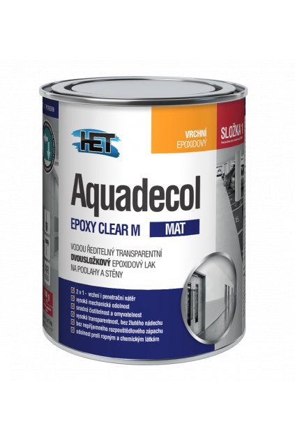 Aquadecol EPOXY CLEAR M 0,8kg