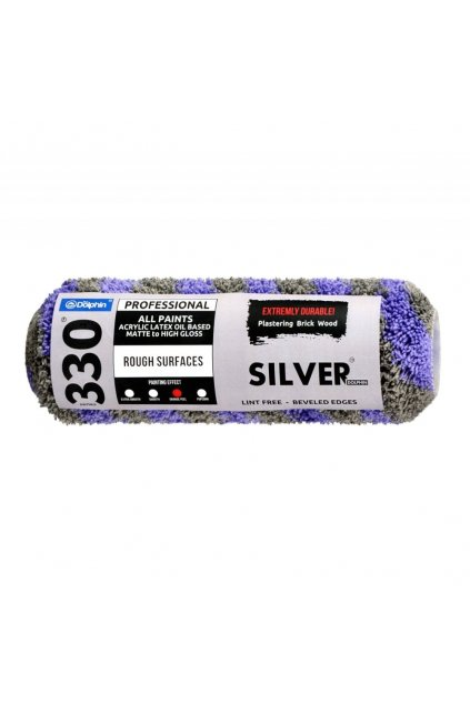 professional silver paint roller cover 9 84 inch 25cm p3321 1557 image