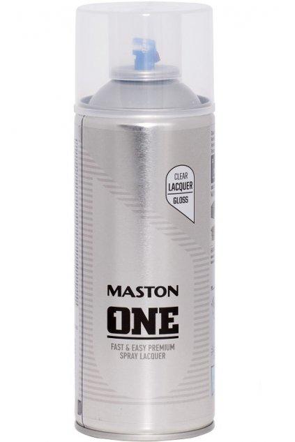 Maston ONE Sprej bezbarvý lak 400ml