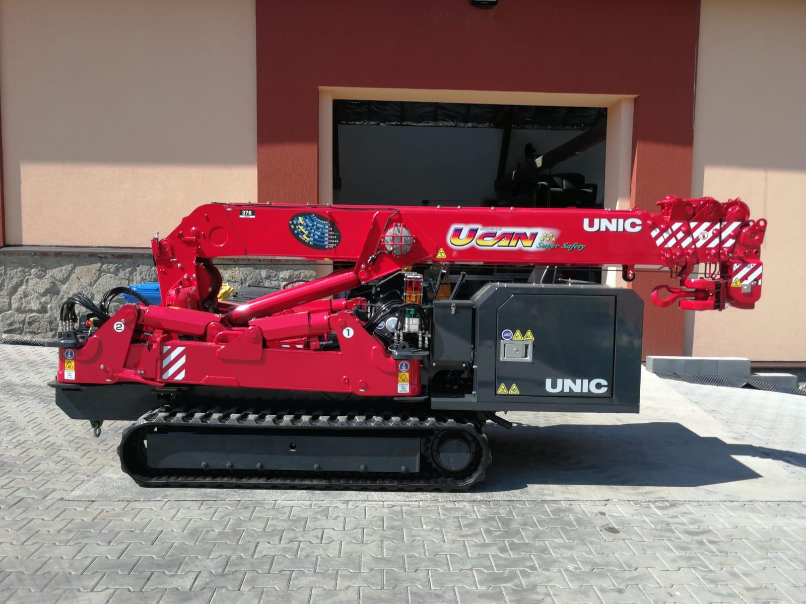 Nový UNIC URW-376 v naší flotile