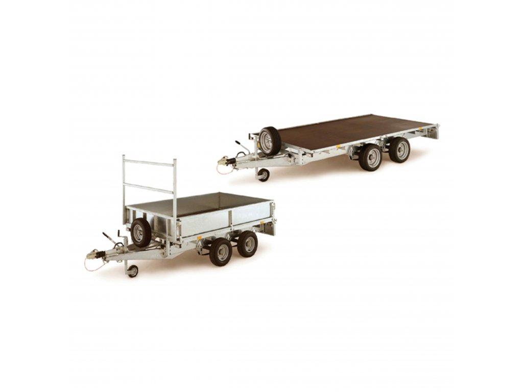 privesny vozik dvou triosy plato 2000 3500 kg 89 original
