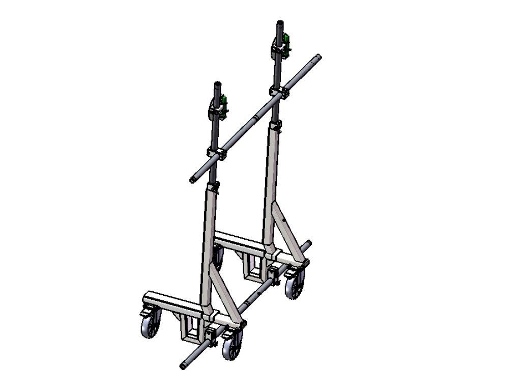 transportni vozik na sklo mzk 2000 u 71 original