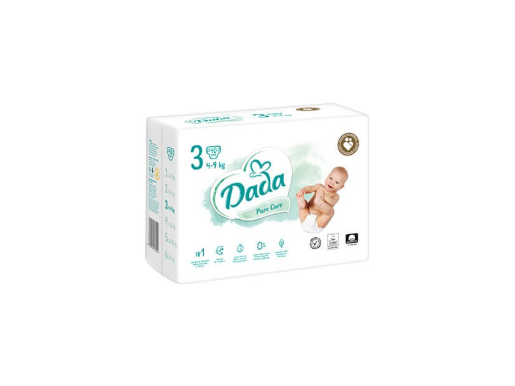 pampers pure krabice 4