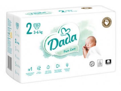 pampers pure krabice 3