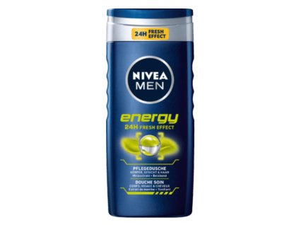 nivea gel energy men