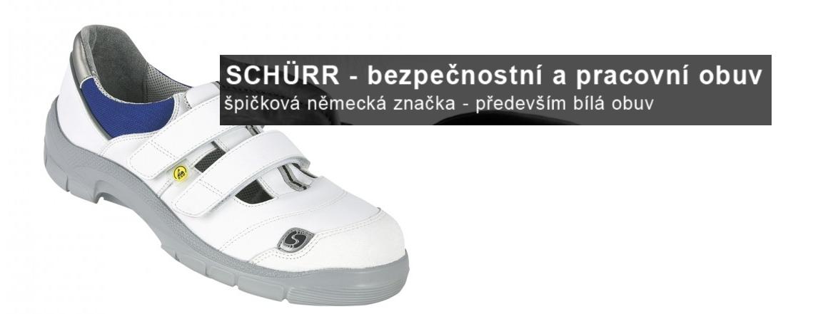 Schuerr - bezpečnostní a pracovní obuv - špičková německá kvalita