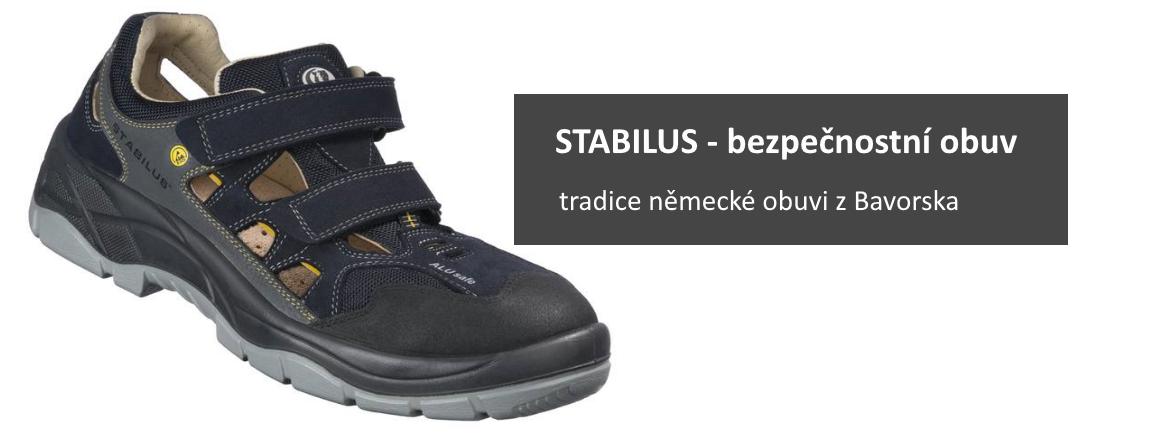Stabilus - bezpečnostní obuv - německá tradiční značka
