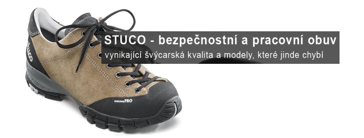 Stuco - bezpečnostní a pracovní obuv