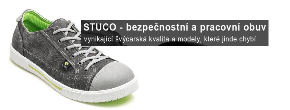 Stuco - bezpečnostní a pracovní obuv -vynikající švýcarská kvalita