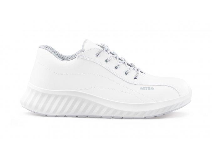 ARAWA 6217 1010 S2:pracovní polobotka s ocelovou špicí,antistatická a protiskluzová bota,obuv pro potravinářství,gastro apod.