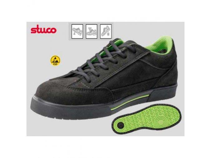 12 330 :bezpečnostní polobotka,bota s ocelovou špicí,antistatická ESD obuv pro elektrotechniku apod.