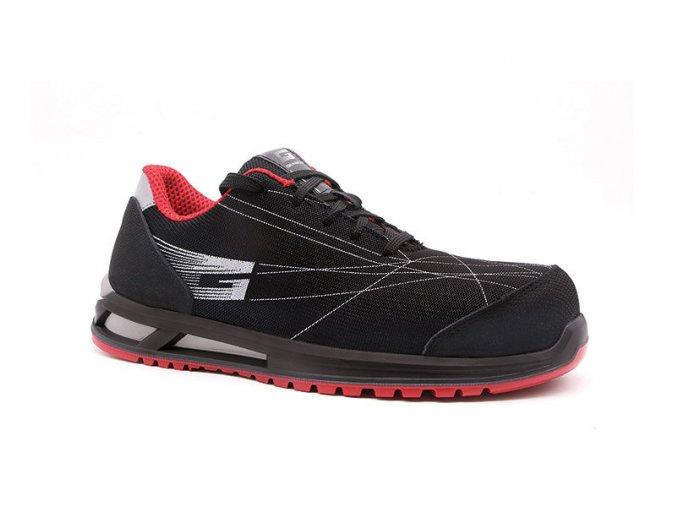 MYKONOSS1P :bezpečnostní polobotka s plastovou špicí.lehká pracovní bota bez kovu,antistatická.Komfortní protiskluzová podešev,výborné tlumicí vlastnosti