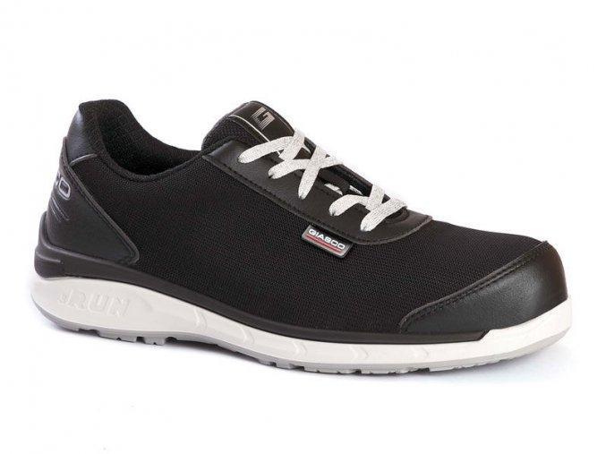 """Shamal S3 :polobotka s plastovou špicí,antistatická bezpečnostní bota,komfortní """"3Run""""podešev tlumí výborně rázy.protiskluzová obuv bez kovu"""