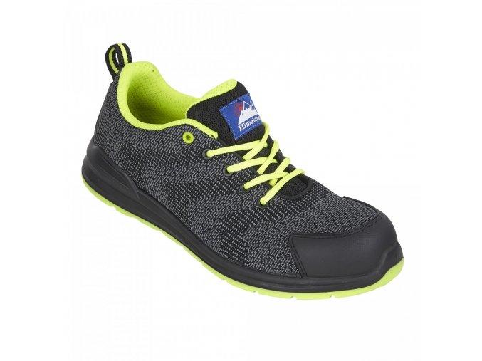 Himalayan Flyknit 4341:pracovní bota z odolné tkaniny,antistatická pracovní bota bez kovu