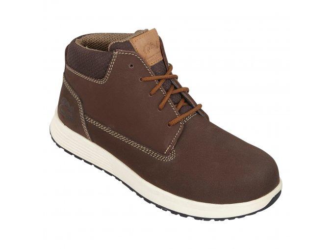 himalayen urban :kotníková bota s bezpečnostní kompozitovou špicí,podešev EVA/pryž=vhodná pro chůzi na tvrdém povrchu
