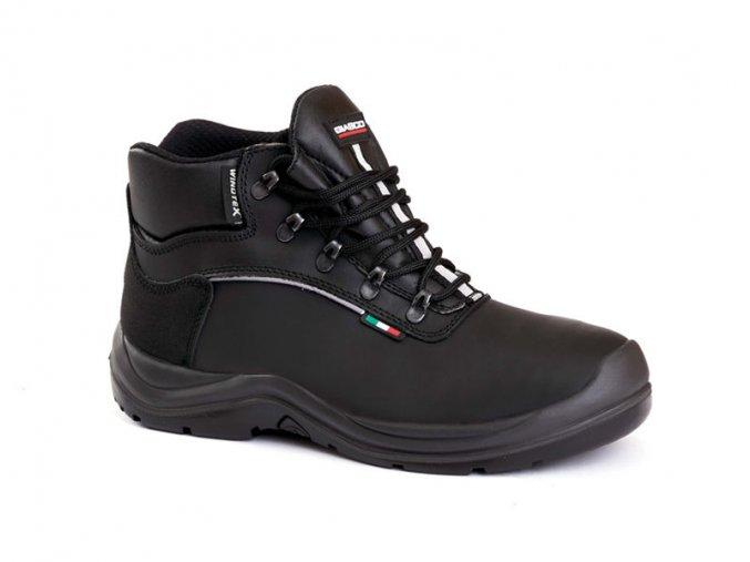 HAMBURGS3CIWR :kotníková bota s plastovou špicí,obuv bez kovu,bota i na zimu