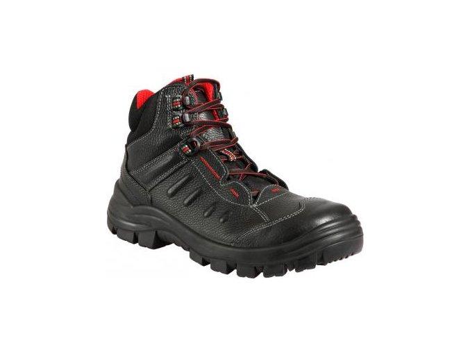 Tobias S3 SRC kotníková pánská dámská bota s plastovou špičkou,protiskluzná antistatická bota