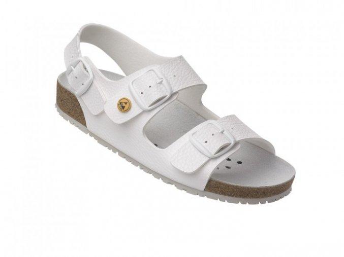 Schuerr 5.1847.01.14 OB SRC ESD pánský,dámský zdravotní sandál korkový fussbet,gel v patě,zdravotnictví,elektronika
