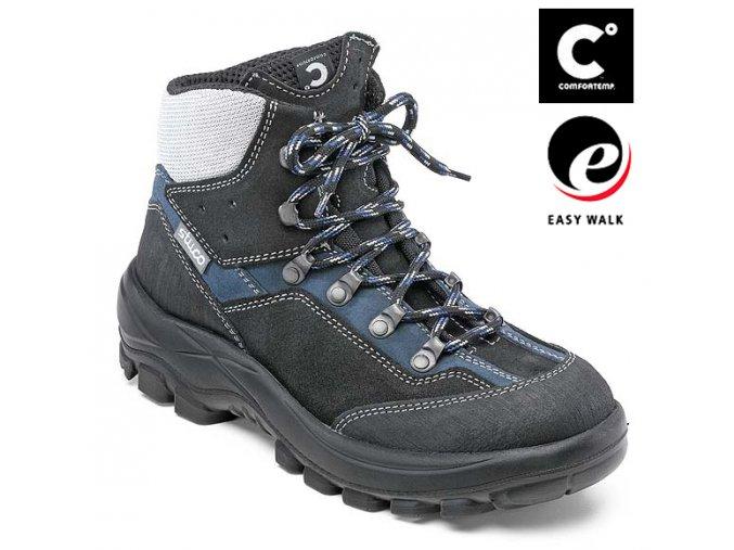 Stuco 34 226 S2 SRC ESD dámská kotníková obuv ocelová špička ,komfortní dámská bota i jako zimní