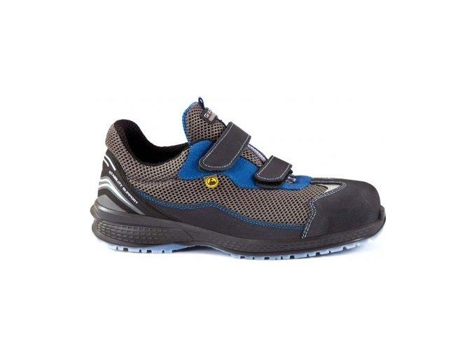 Giasco Paint S1P SRC ESD dámská,pánská polobotka ,plastová špička, metal free,pracovní obuv pro elektrotechniku,lehký průmysl,výbušné provozy