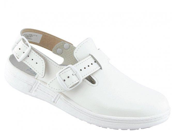 AWC/Schürr 1.7500.01.44 OB pánský/dámský bílý sandál antistatická výborně protiskluzná obuv,pro kuchaře,gastro