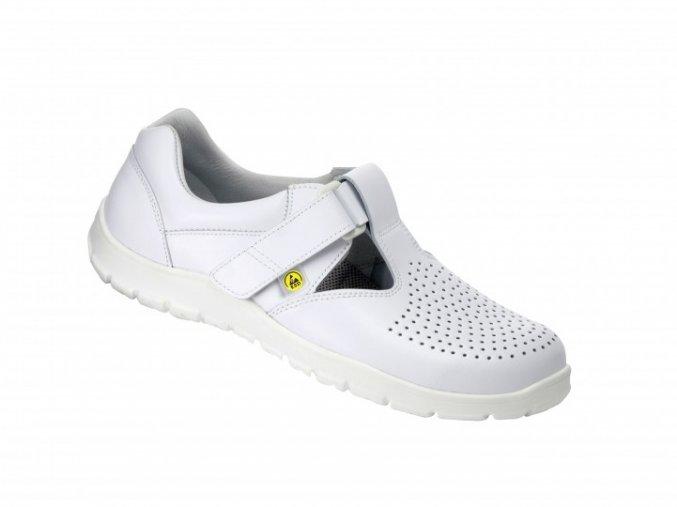 Schuerr Landshut O1 ESD zdravotní sandál bez tužinky ,pracovní antistatická bota ESD,zdravotnictví,farmacie ,laboratoře