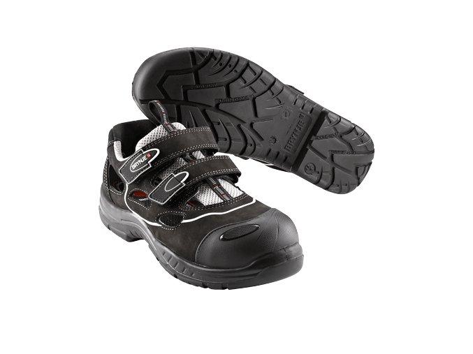 Brynje 358 S1P SRC protiskluzný sandál ,široká Alu špice, antistatická bota ,lehký průmysl,sklady,logistika