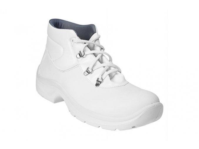 AWC 2 3358 01 00 protiskluzná bílá bota pro kuchyně,potravinářství.Antistatická obuv.obuv z mikrovlákna,obuv s ocelovou špičkou