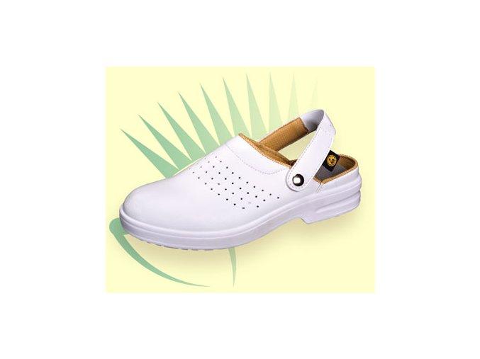 Safeway E101 antistatický dámský,pánský sandál ESD,protiskluzný sandál do zdravotnictví,farmacie.
