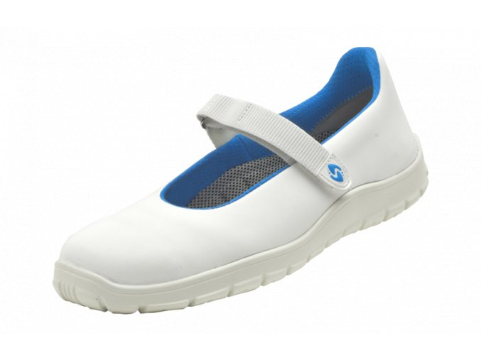 Schuerr Safety Balerina S1 SRA ESD dámská bota,gelové prvky,výborné tlumení nárazů, pro elektrotechniku zdravotnictví farmacii