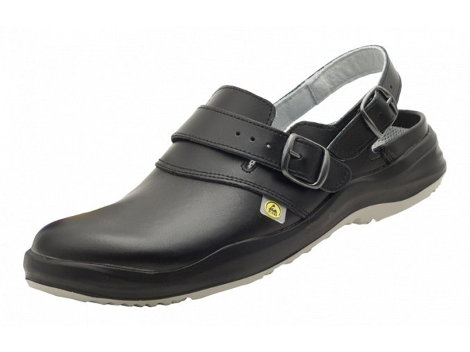Schuerr Degendorf antistatický sandál,zdravotní ESD obuv,gelové vložky tlumí nárazy,,protiskluzný sandál do zdravotnictví,elektrotechniky obuv pro farmacii