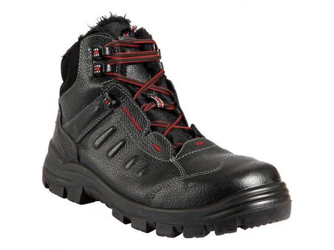 prabos tobias s3 zimní kotníková obuv,kompozitová špice,ochrana proti propichu,pracovní zimní bota,protiskluzná kotníková obuv  bez kovu,non metallic