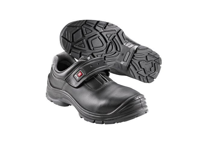 Brynje B203 pánská polobotka s vyztuženou špičkou ,bez kovu,ochrana proti propíchnutí,širokáa komfortní pracovní obuv