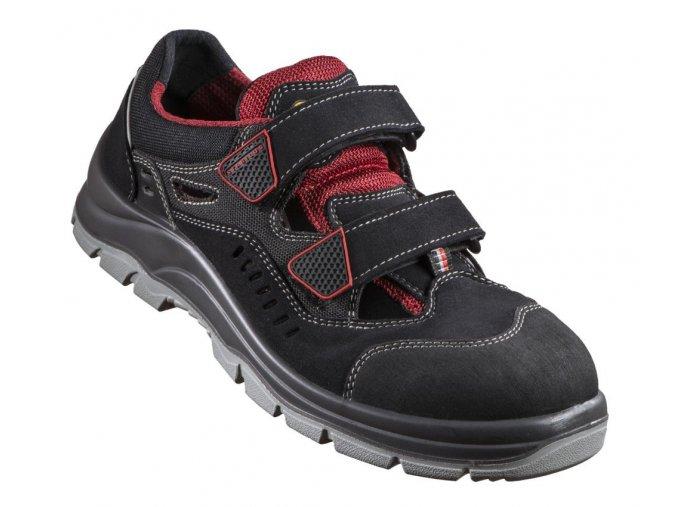 5124A S1-bezpečnostní sandál skompozitní špičkou,protiskluzný sandál S1P,antistatická ESD pracovní  obuv pro sklady, elektrotechniku atd.,obuv bez kovu,metallfrei
