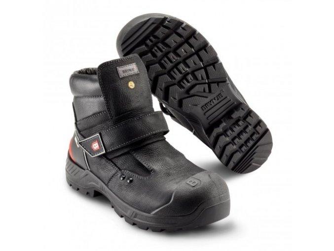449 welder -robustní bezpečnostní obuv s hliníkovou špičkou. Antistatická ESD bota do těžkých provozů a pro svářeče.